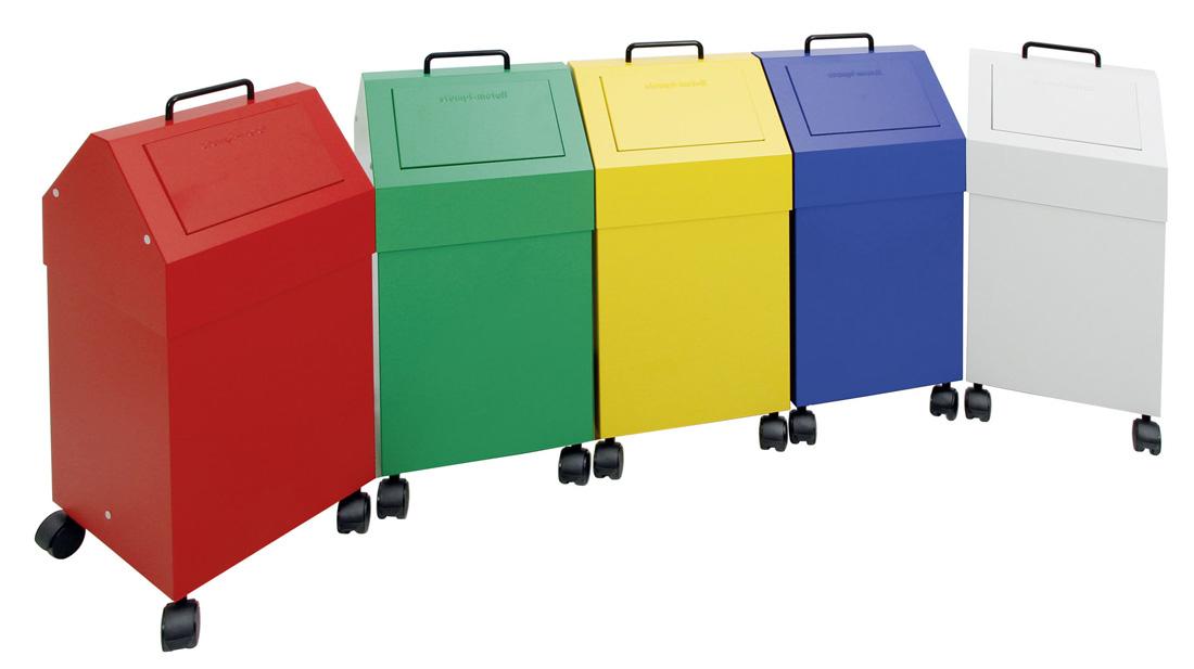 Abfalltrennung 45 Liter - fahrbar