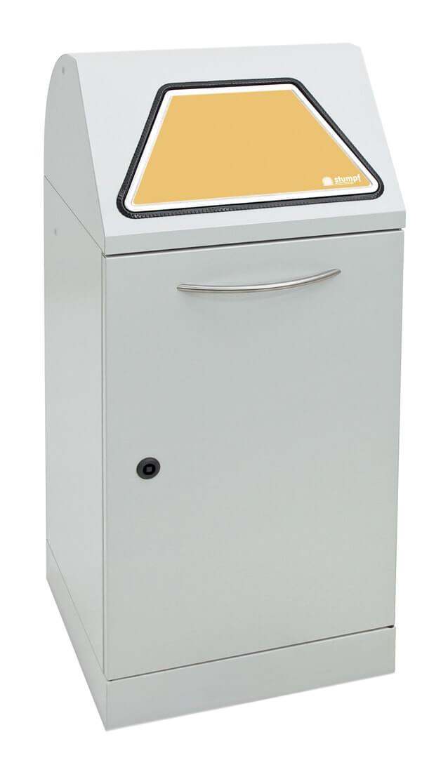 Abfalltrennung Modul-Vario 60, Stahleinsatz, lichtgrau