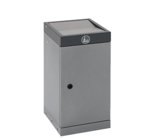Abfalltrennung ProTec-Plus, 30 Ltr., anthrazit