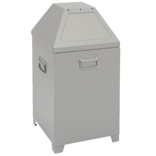 Abfalltrennung ABF - Mod. 1, weißaluminium