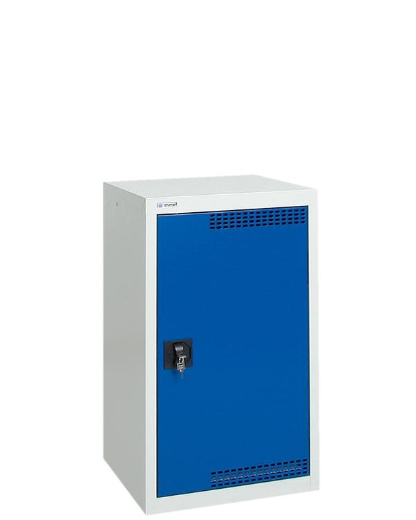 Umweltschrank StawaR-1, lichtgrau/blau