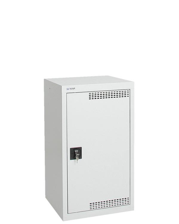 Umweltschrank Basic-Plus-1, lichtgrau