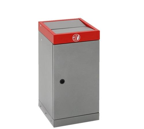 Abfalltrennung ProTec-Plus, 30 Ltr., rot