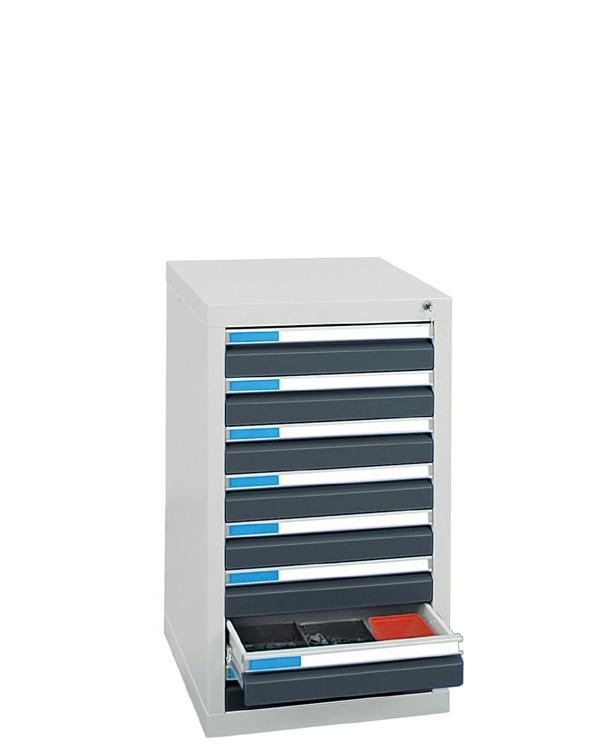 Schubladenschrank Serie ESTA-1, Teleskopauszug
