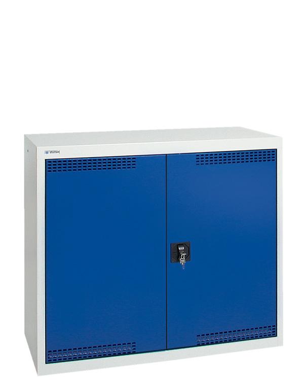 Umweltschrank StawaR-2, lichtgrau/blau