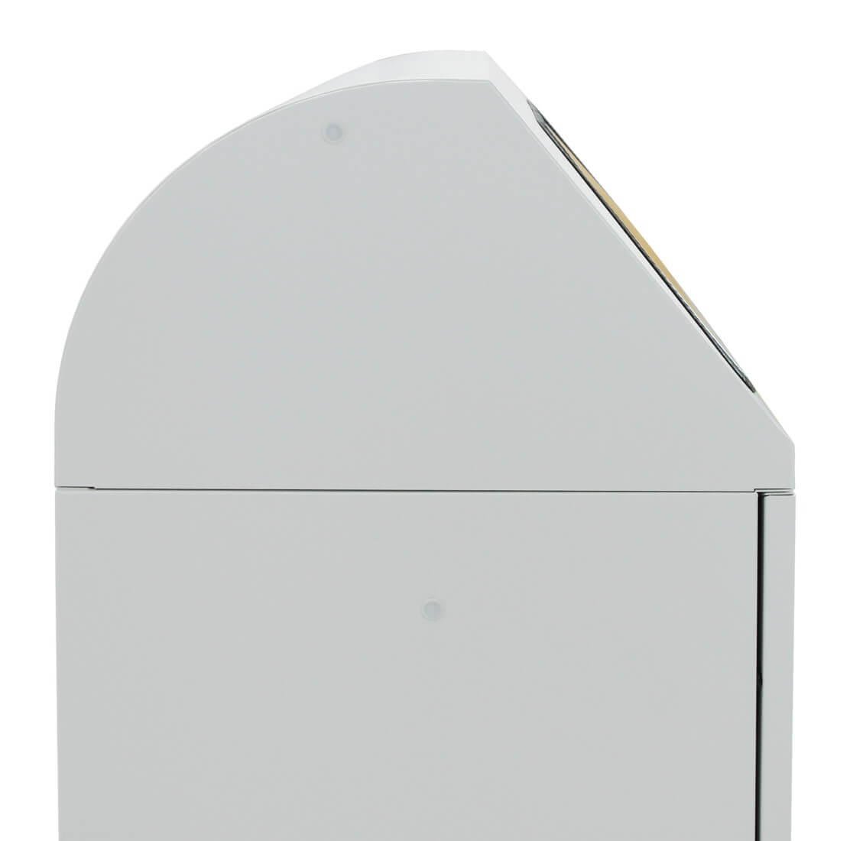 Abfalltrennung Modul-Vario 60, ProSlide-System, lichtgrau