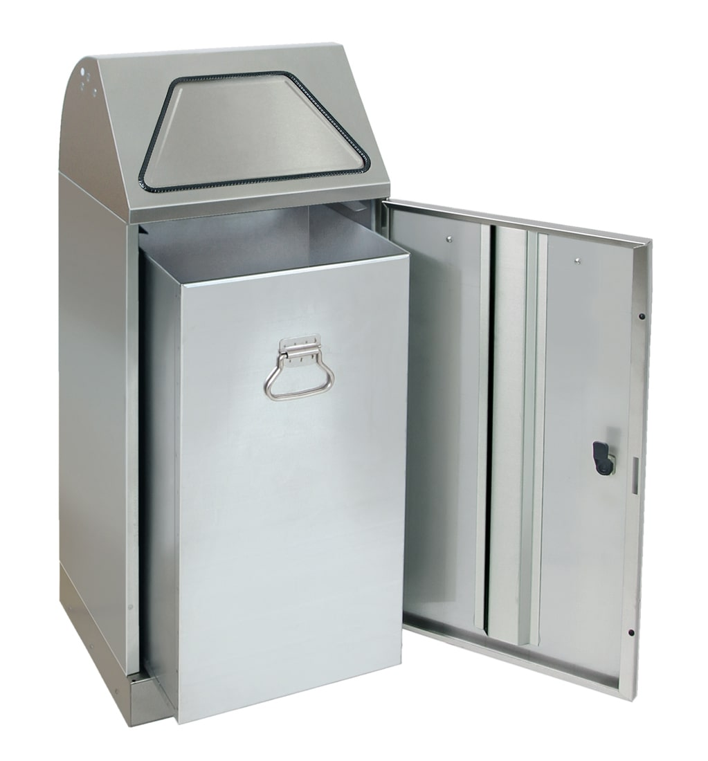 Abfalltrennung Modul-Vario 75, Stahleinsatz, edelstahl