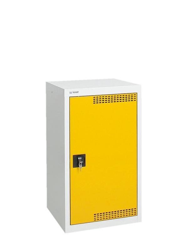 Umweltschrank StawaR-1, lichtgrau/gelb