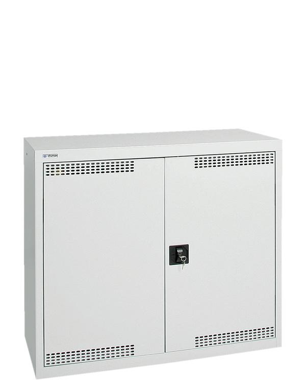 Umweltschrank Basic-Plus-2, lichtgrau
