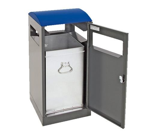 A³, 40 L, für Außenbereiche, anthrazit/blau